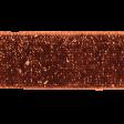 Copper Spice Glitter Ribbon