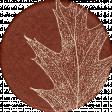 Copper Spice Leaf Sticker