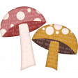 Frosty Forest Mushrooms