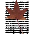 Autumn Bramble Leaf
