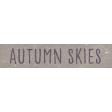 Autumn Bramble Autumn Skies Word Art