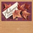 "Autumn Bramble Autumn Memories Journal Card 4""x4"""