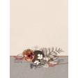 "Autumn Bramble Cluster Journal Card 3""x4"""