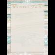 Snowhispers Winter Fun Journal Card 3x4