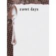 Sweaters & Hot Cocoa Sweet Days Journal Card 3x4