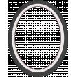 Sweaters & Hot Cocoa Mini Oval Photo Frame