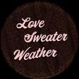 Sweaters & Hot Cocoa Mini Love Sweater Weather Sticker