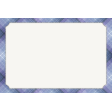 Winter Solstice Plaid 4x6 Journal Card