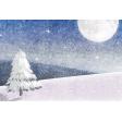Winter Solstice Winterscape 4x6 Journal Card