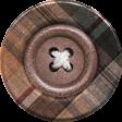 Sweaters & Hot Cocoa Plaid Button