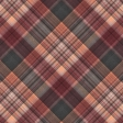 Sweaters & Hot Cocoa Plaid Paper 10