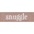 Sweaters & Hot Cocoa Snuggle Word Art