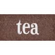 Sweaters & Hot Cocoa Tea Word Art