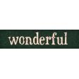 Sweaters & Hot Cocoa Wonderful Word Art