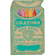 Schoolwork Crayon Box