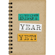 Schoolwork Best Year Yet Notebook