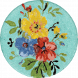 Taco Tuesday Flower Sticker