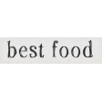 Taco Tuesday Best Food Word Art Snippet