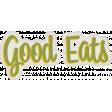Taco Tuesday Good Eats Word Art