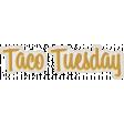 Taco Tuesday Word Art