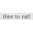 Taco Tuesday Time to Eat! Word Art Snippet