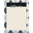 Blue Reflections Memories Journal Card