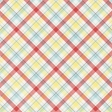Go Out & Play Plaid Paper