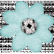 Positively Happy Light Blue Flower 2
