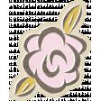 Positively Happy Rose Sticker