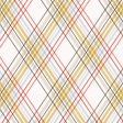 Positively Happy Plaid Paper