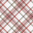 Positively Happy Plaid Paper 8