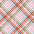 Positively Happy Plaid Paper 10