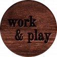 Project Endeavors Work and Play Sticker