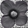 My Tribe Gray Flower