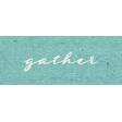 My Tribe Gather Word Art