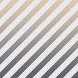 My Tribe Gray Gold Stripe Paper