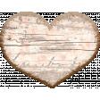 Nesting Wooden Heart
