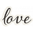 Nesting Love Word Art