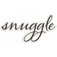 Nesting Snuggle Word Art