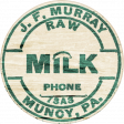 Nesting Wooden Milk Label