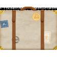Around The World {In 80 Days} Suitcase Element