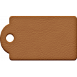Around The World {In 80 Days} Leather Tag Element