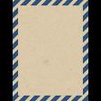 Around The World Envelope 3x4 Journal Card