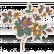 Vintage Memories: Genealogy Flower Sticker