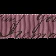 Vintage Memories: Genealogy Purple Ribbon