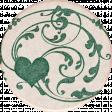 Vintage Memories: Genealogy Heart Sticker