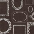 Vintage Memories: Genealogy Brown Frames Paper