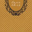 Vintage Memories: Genealogy Love This 4x4 Journal Card