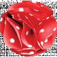 Retro Picnic Polka Dots Flower