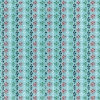 Retro Picnic Cross Stitch Flower Paper